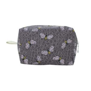 Medium Cosmetic Bag by Dana Herbert - Bees