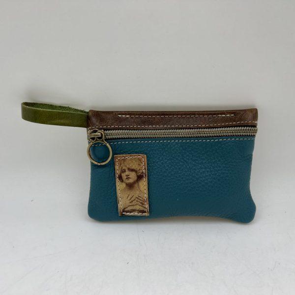 Mini Stash Bag by Traci Jo Designs - Blue/Lady - TJ25