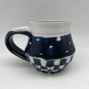 Dots and Checks Mug by Margo Brown - 2565