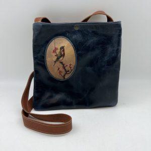 Day Tripper Bag by Traci Jo Designs - Navy/Bird - TJ36