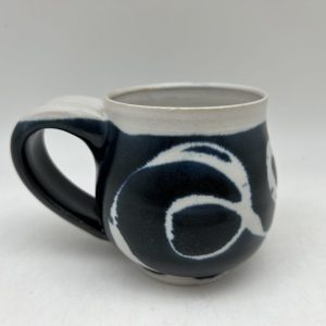 Navy String Design Mug by Margo Brown - 2707