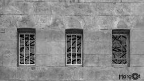 Lijnenspel in de ramen - Scheepvaartmuseum