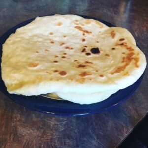 Soft and Pillowy Naan Bread