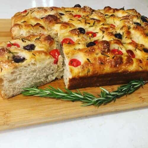 sourdough focaccia bread recipe
