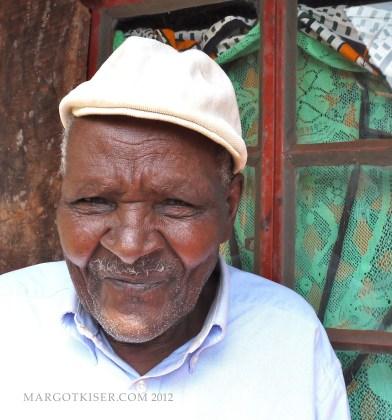 Mau Mau torture claimant, Wambui Wa Nying, Nyeri, 2012