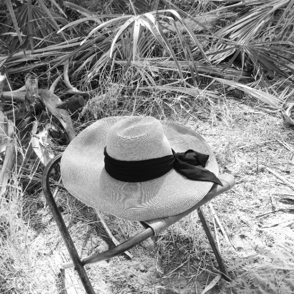 Favorite hat on safari