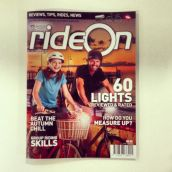 We got the April-May issue of Ride On to the printers!