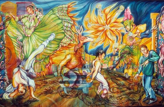 Mural by Juana Alicia