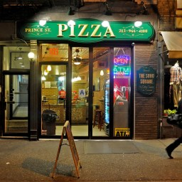 Prince Street Pizza's 'Original Prince' slice