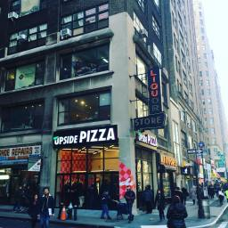 Upside Pizza is a promising new slice shop in Times Square