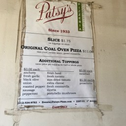 Patsy's East Harlem is arguably the best by-the-slice deal in NYC