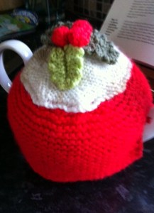 Dear Barbara's festive pot - I just couldn't resist!