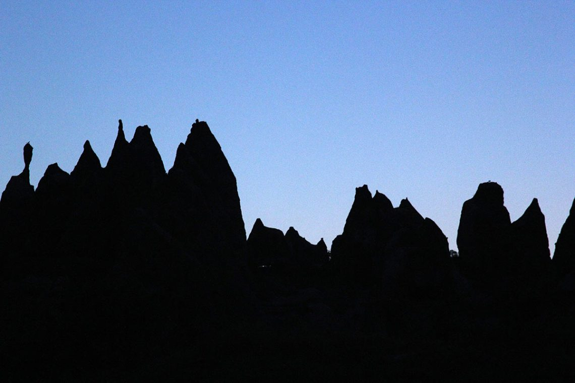 Cappadocia In Silhouette