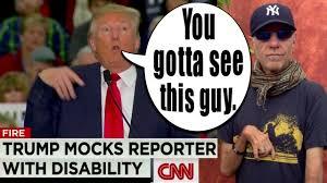 trump mocks disabled