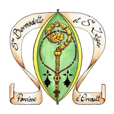 Le sceau de Ste Bernadette et St Léger d'Orvault