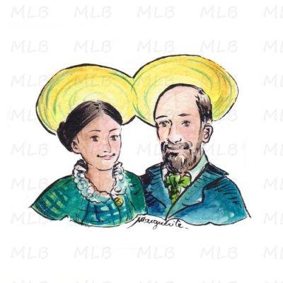Pour les couples - Saints époux MARTIN
