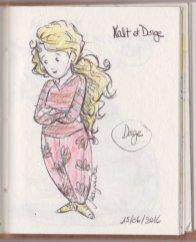 ... et Dorge ! (croquis aux crayons)