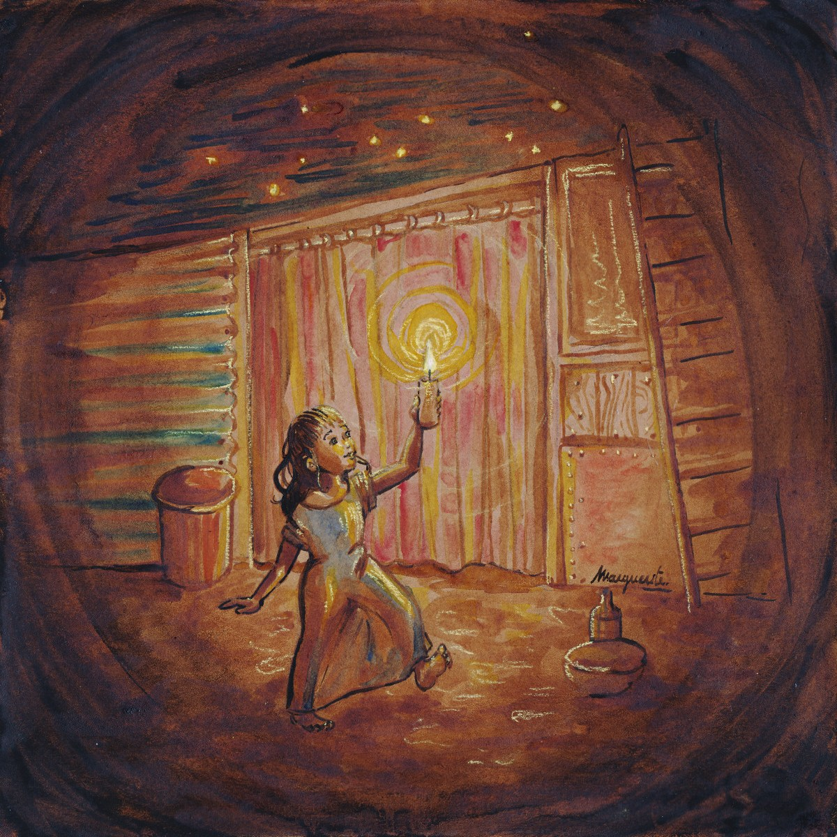 Bidonville - illustration