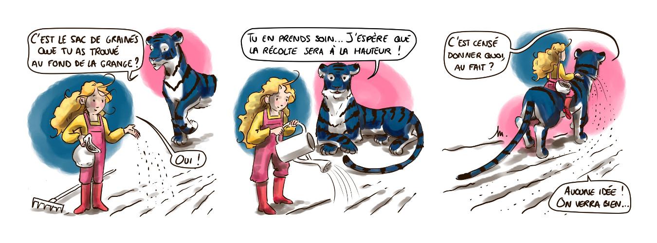 Malt et Dorge #Zélie – Semis