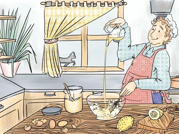 Les Tartelettes amandines 1 - Cours Troubadour - illustration