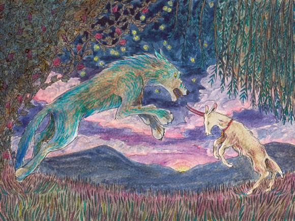 La chèvre de Monsieur Seguin - 3 - illustration