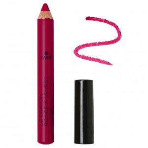 le crayon rouge à lèvres bio d'avil de couleur violine est disponible sur marguette.com au prix de 4 €
