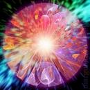 мандала, mandala, космос, универсальная мандала, энергия, портал, Вселенная, гармония, вспышка, свет, фрактал