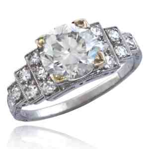 Art Deco Diamond Ring Image
