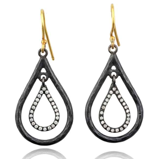 Raindrop Diamond Earrings Image
