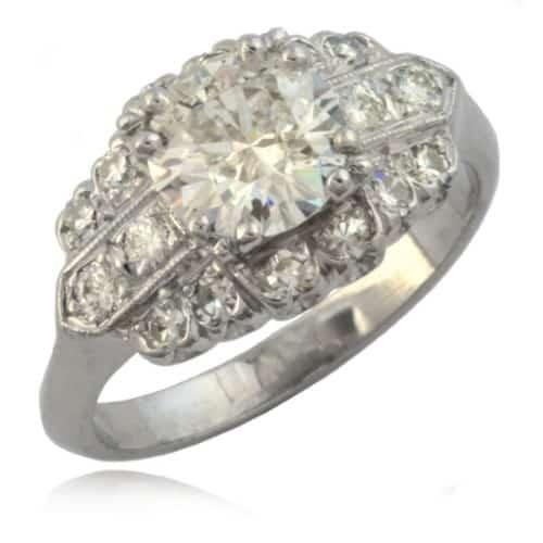 Art Deco Diamond Ring Image