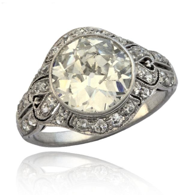 Edwardian Diamond Ring Image