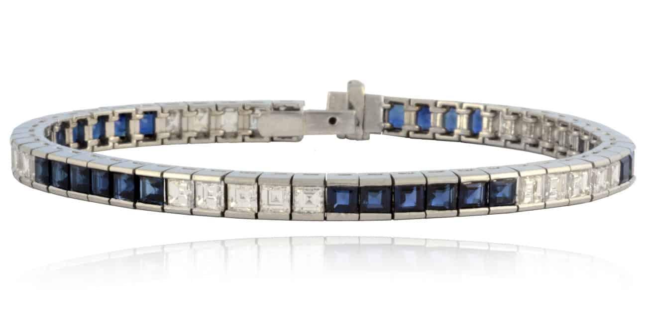Sapphire & Diamond Bracelet Image
