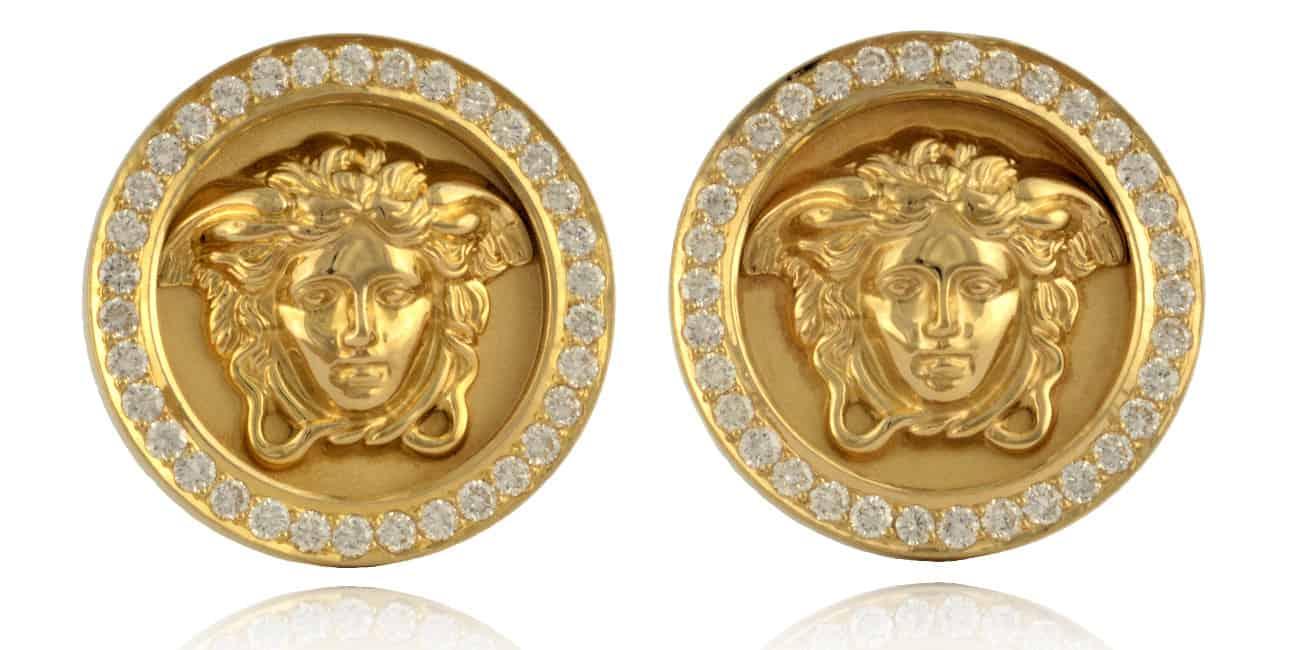 Versace Diamond Earrings Image