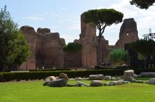 حمامات كركلّا في روما ٠١