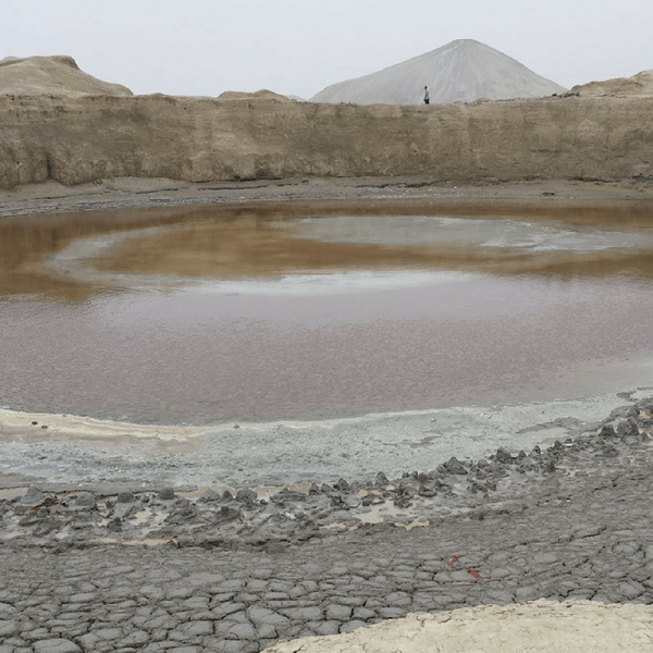 Mud Volcanoes in Balochistan.