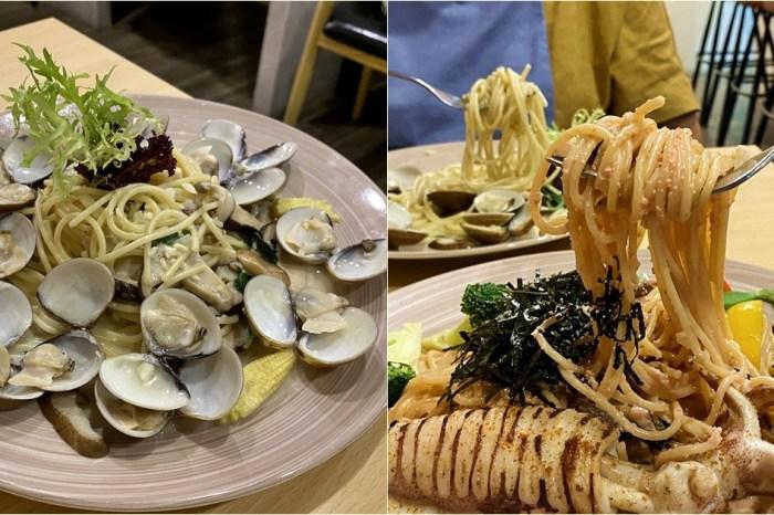 花雨森林義式餐廳 平價義大利麵推薦 不收服務費 離近國美館 台中西區美食(附菜單)