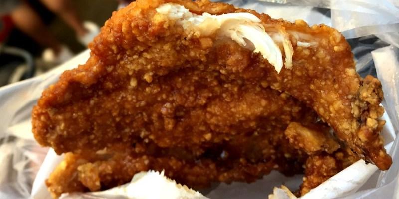 一中8兩碳烤雞排 先炸後烤 一片八兩重的雞排 食尚玩家也推薦 台中北區美食
