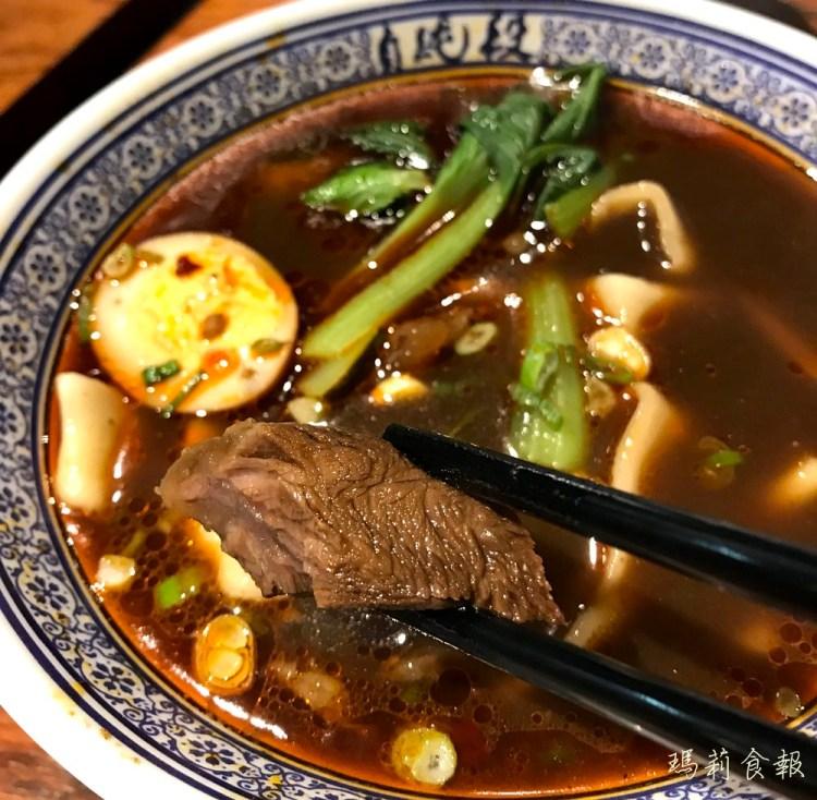 台中西區美食 段純貞牛肉麵 湯頭麻香牛肉入味手工寬麵一吃就上癮@廣三SOGO