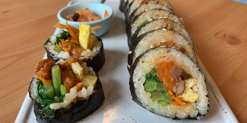 K bab大叔的飯卷|附2020菜單 台中北區美食 韓國人經營的韓式料理 飯捲大推薦 鄰近中友