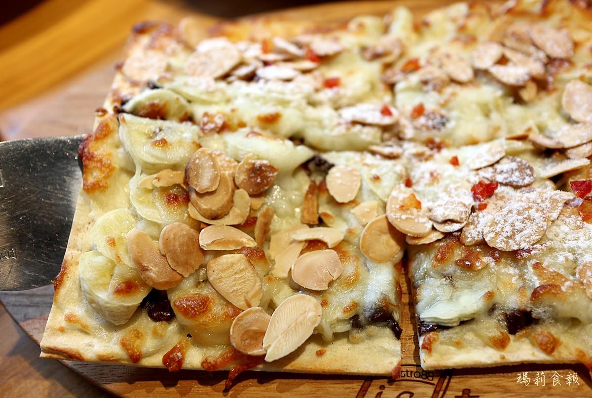 台中南屯美食,Bistro88 Light,從早午餐到宵夜全時段供餐,薄皮披薩