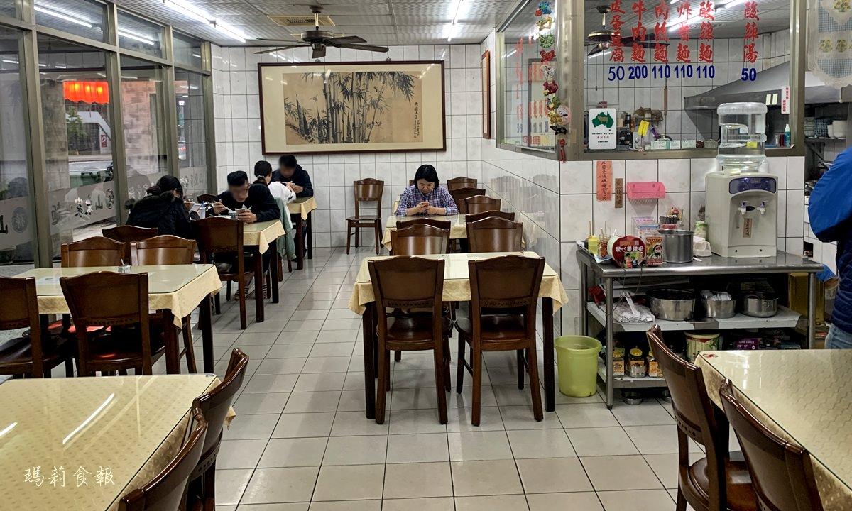 台中北區,孫家山東家常麵,店家自製手工麵條,道地外省口味,一中美食推薦