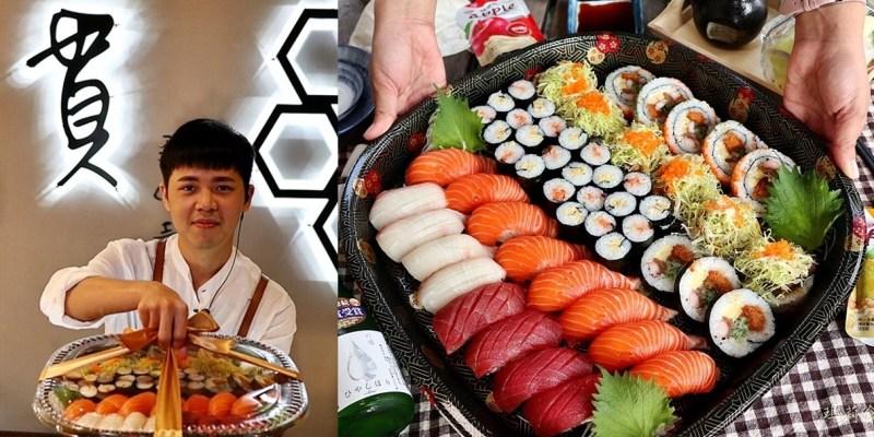 一貫手作壽司 壽司便當外帶餐盒 精緻華麗 台中CP值超高的壽司外帶便當推薦 中科美食 台中西屯