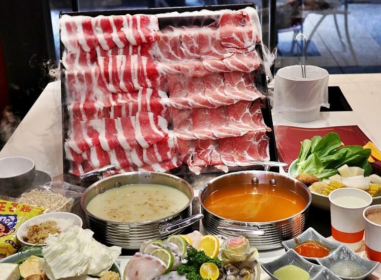 嗑肉石鍋南屯豐樂店|台中火鍋推薦 浮誇的800克肉片瀑布 肉控必吃 鮮蔬、飲料、冰淇淋吃到飽 南屯美食