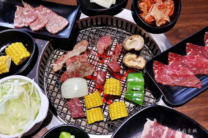 炭火燒肉工房沙鹿店|超過50種肉品海鮮無限開吃 台中燒肉吃到飽推薦 沙鹿美食 海線必吃 不收服務費