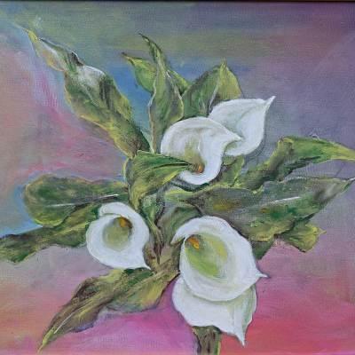 2014 - Calla, 60x50cm, Acryl
