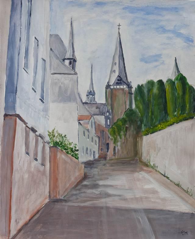 2006 - Marburg, 40x50cm, Acryl