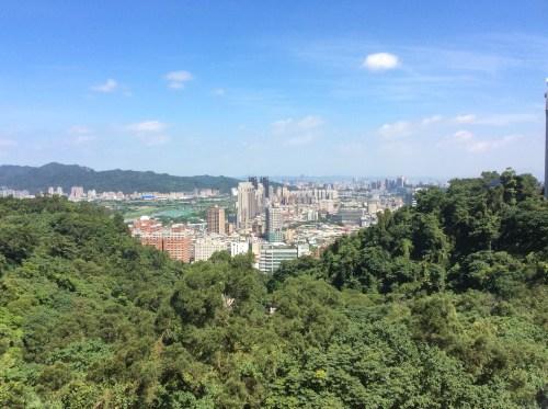 台北国際学舎からの眺め