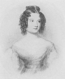 Ada Lovelace (född Byron) som 17-åring