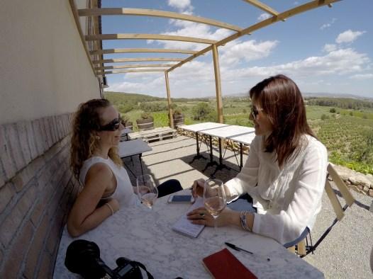 Cava vineyard (Hard-core reporting, ft. Karolina and Inma)