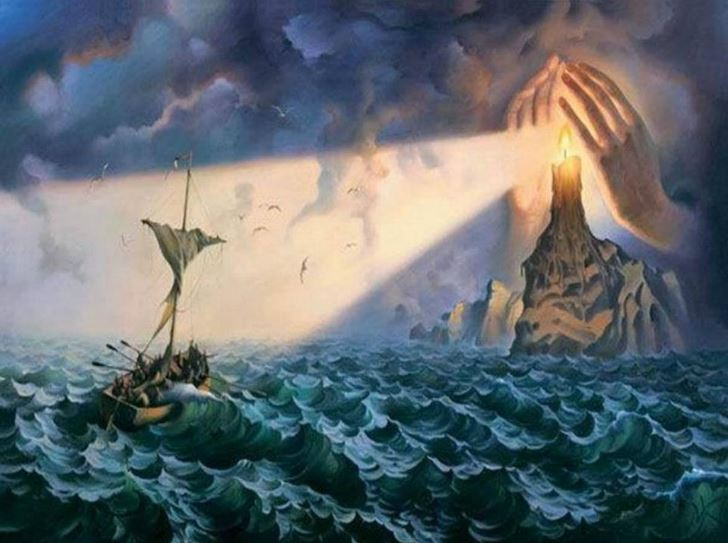Vladimir Kush, To the Safe Haven - All Rights Reserved